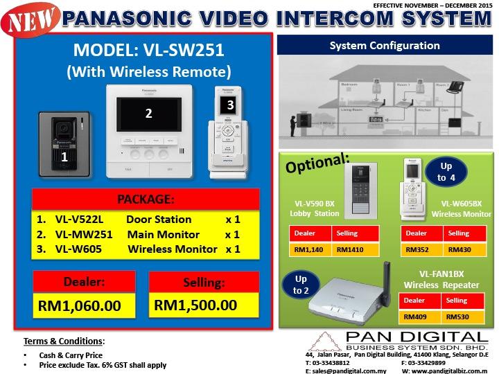 Video Intercom Promotion